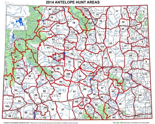 Wyoming Antelope & Deer Hunting | Application Deadline ...