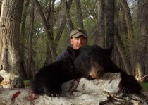 JT with his wyoming black bear