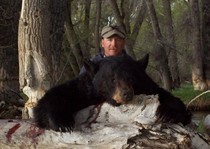 JT Nunn with his 2012 Black Bear
