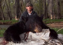 Billy with JT's 2012 Wyoming Black Bear