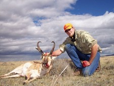 Ryan W. shown here with his 2006 antelope buck.