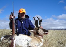 Robert A. shown here with his 2005 buck antelope.