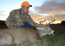 Richard Turner with his 2005 whitetail deer.