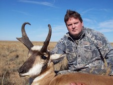 Mark Nethery takes another nice buck antelope with Bar-Nunn Hunting.