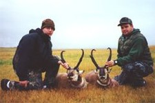 Father-Son Antelope Hunt