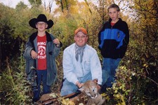 Jim DeHart took this mountain lion during deer season in 2004.