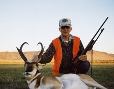 Nice Antelope Taken in 2002 With Bar-Nunn Hunting.