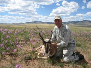 <p>Another successful archery antelope hunt here at Bar Nunn Hunting</p>