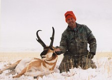 Our good picture of our best buck antelope taken during the fall 2005 hunting season.