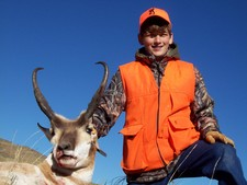 Youth Wyoming Antelope Hunt